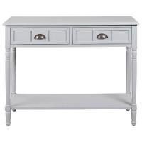 Goverton Gray Console Sofa Table