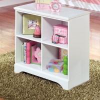 Lulu White Loft Bin Storage