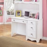Exquisite White Bedroom Desk Hutch