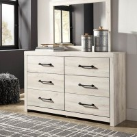 Cambeck Whitewash Bedroom Mirror