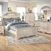 Catalina Antique White Bedroom Set