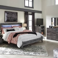 Baystorm Gray Bedroom Set