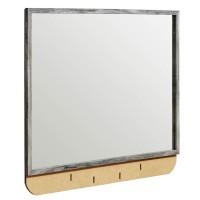 Baystorm Gray Bedroom Mirror