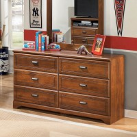 Barchan Medium Brown Bedroom Mirror