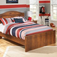 Barchan Medium Brown Full Panel Bed