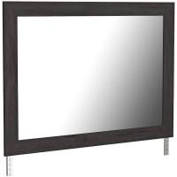 Belachime Black Bedroom Mirror