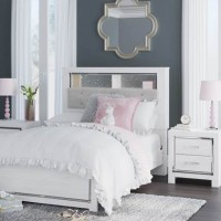 Altyra White Full Bookcase Headboard Bed (Mattress And Foundation Required)