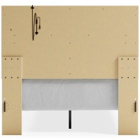 Altyra White Full Panel Bed (Mattress And Foundation Required)