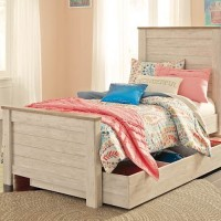 Willowton Whitewash Under Bed Storage