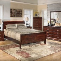 Alisdair Dark Brown Bedroom Set