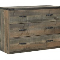 Trinell Brown Loft Drawer Storage