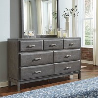 Caitbrook Gray Bedroom Mirror