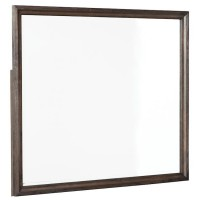 Brueban Gray Bedroom Mirror