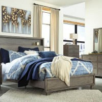 Arnett Gray Bedroom Set