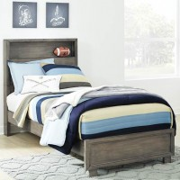 Arnett Gray Twin Bed