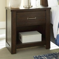 Darbry Brown One Drawer Night Stand
