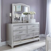 Coralayne Silver Bedroom Mirror