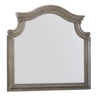 Lodenbay Antique Gray Bedroom Mirror