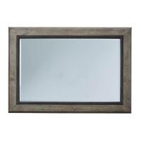 Brennagan Gray Bedroom Mirror