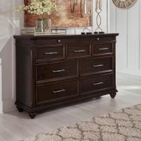 Brynhurst Dark Brown Dresser