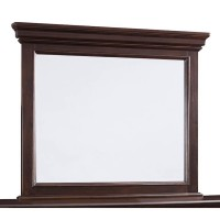 Brynhurst Dark Brown Bedroom Mirror