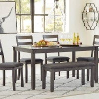 Bridson Gray Dining Room Set