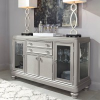 Coralayne Silver Finish Dining Room Server