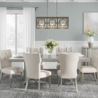 Chevanna Platinum Dining Room Set