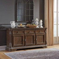 Charmond Brown Dining Room Buffet