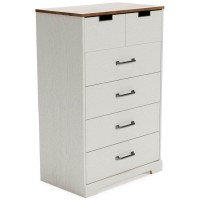 Vaibryn Two Five Drawer Chest