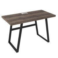 Arlenbry Gray Home Office Small Desk