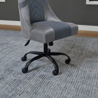 Barolli Gunmetal Swivel Gaming Chair