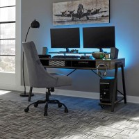 Barolli Gunmetal Office Set
