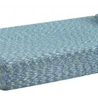 iKidz Blue Blue Twin Mattress and Pillow (Includes 2)