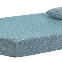 iKidz Blue Blue Full Mattress and Pillow (Includes 2)