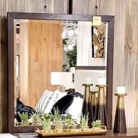 Burkhaus Brown Bedroom Mirror