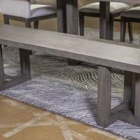 Anibecca Gray Dining Room Bench