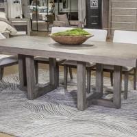 Anibecca Gray Rectangular Dining Room Table
