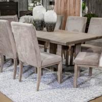 Chrestner Gray Dining Room Set