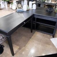 Beckincreek Black Home Office Small Leg Desk