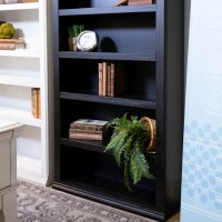 Beckincreek Black Large Bookcase
