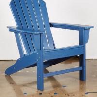 Sundown Treasure Blue Adirondack Chair