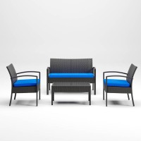 Alina Gray Love/Chairs/Table Set (Includes 4)