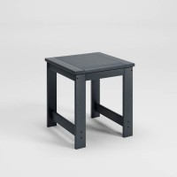 Amora Charcoal Square End Table