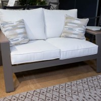 Tropicava Taupe Loveseat with Cushion