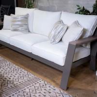 Tropicava Taupe Sofa with Cushion
