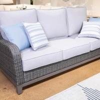 Elite Park Gray Sofa with Cushion