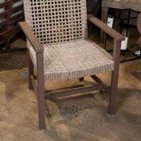 Germalia Brown Arm Chair (Includes 2)