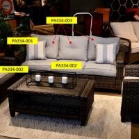 Cloverbrooke Gray Seat Cushion