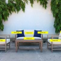 Fynnegan Beige Seat Cushion